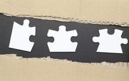 Puzzle Stockfoto