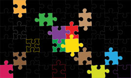 Puzzle royalty illustrazione gratis