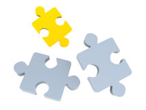 Puzzle. Royalty Free Stock Image