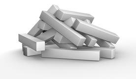 puzzle 3D Fotografia Stock Libera da Diritti
