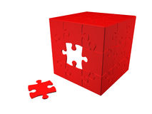 Puzzle 3D Photographie stock