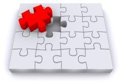 puzzle 3d Photo libre de droits
