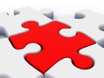 puzzle 3d Photographie stock libre de droits