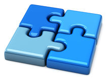 Puzzle 3d Royalty Free Stock Photography