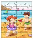Puzzle 4 Images libres de droits