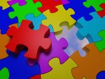 Puzzle #6 photos libres de droits