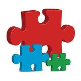 Puzzle Images stock