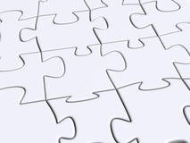 puzzle Obrazy Stock