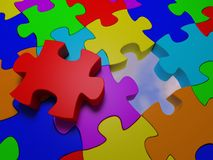 Puzzle #6 Royalty Free Stock Photos