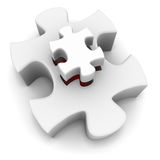 Puzzle royalty illustrazione gratis