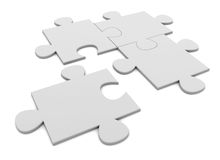 Puzzle royalty free illustration