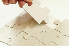 Puzzle. Pieces Royalty Free Stock Image