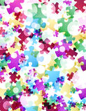 Puzzle abstract Royalty Free Stock Photos