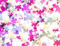 Puzzle abstract Royalty Free Stock Images