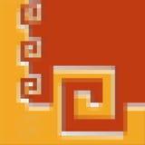 Puzzle abstrait Images libres de droits