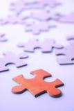 Puzzle - alla ricerca delle strategie Fotografie Stock Libere da Diritti