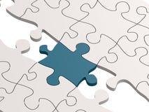 puzzle as a bridge Stock Photos