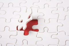 Puzzle astratto Immagine Stock