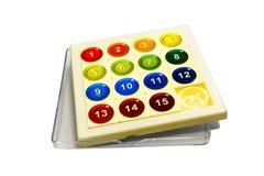 Puzzle avec des numéros Photo libre de droits