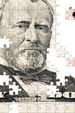 Puzzle avec les parties manquantes Image libre de droits