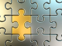 Puzzle background Royalty Free Stock Photo