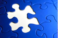 Puzzle Background Stock Photography