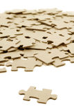 Puzzle background Stock Photos