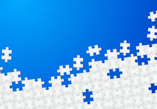 Puzzle background Stock Images