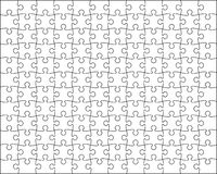 Puzzle background easy resize Stock Images