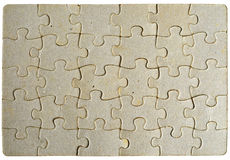 Puzzle background frame Royalty Free Stock Image