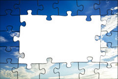 Puzzle background Royalty Free Stock Photos