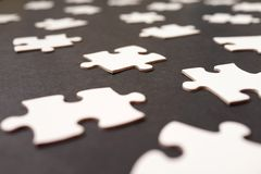 Puzzle background Stock Photo