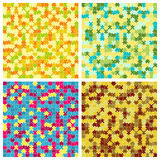 The puzzle background set Stock Photography