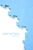 Puzzle background  with space for  text Stock Photography