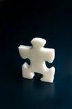 Puzzle bianchi Immagini Stock