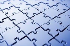 Puzzle in bianco Fotografie Stock Libere da Diritti