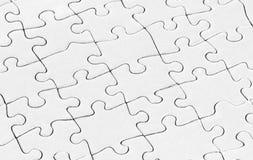 Puzzle in bianco Fotografia Stock Libera da Diritti