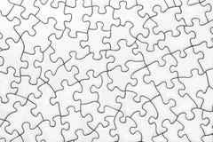 Puzzle in bianco Fotografia Stock