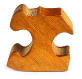 Puzzle block. Over white background Royalty Free Stock Image