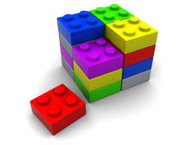 Puzzle blocks Royalty Free Stock Image