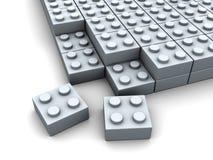 Puzzle blocks Stock Photo