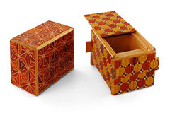 Puzzle Box Royalty Free Stock Photos