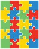 Puzzle brillante variopinto Fotografia Stock Libera da Diritti