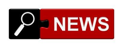 Puzzle Button: News Stock Photos
