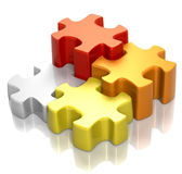 Puzzle Cadmium Harmony Stock Photos