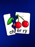 Puzzle -cherry Stock Photos