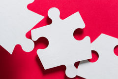 Puzzle choice Stock Photo
