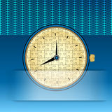 Puzzle Clock Royalty Free Stock Images