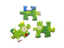 puzzle coloré photo stock