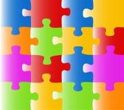 Puzzle coloré (vecteur) illustration stock